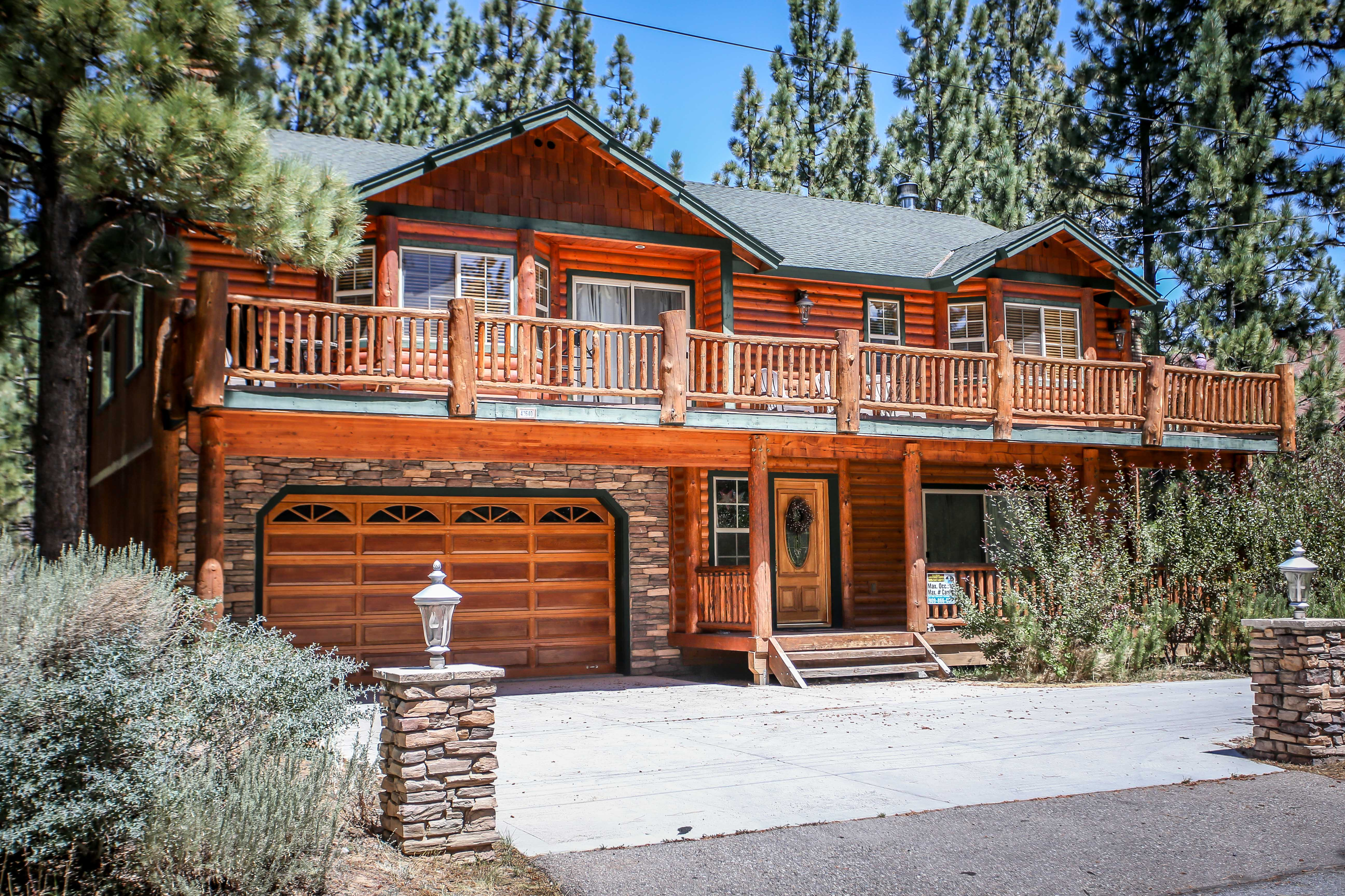juniper chalet big bear lakefront cabins