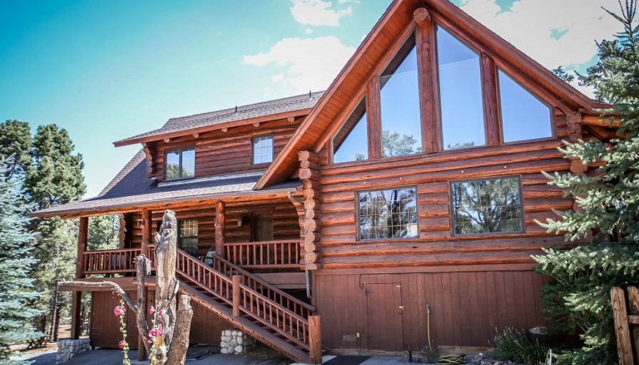 Big bear lake luxury cabin rentals big bear lakefront cabins for Big bear cabins california