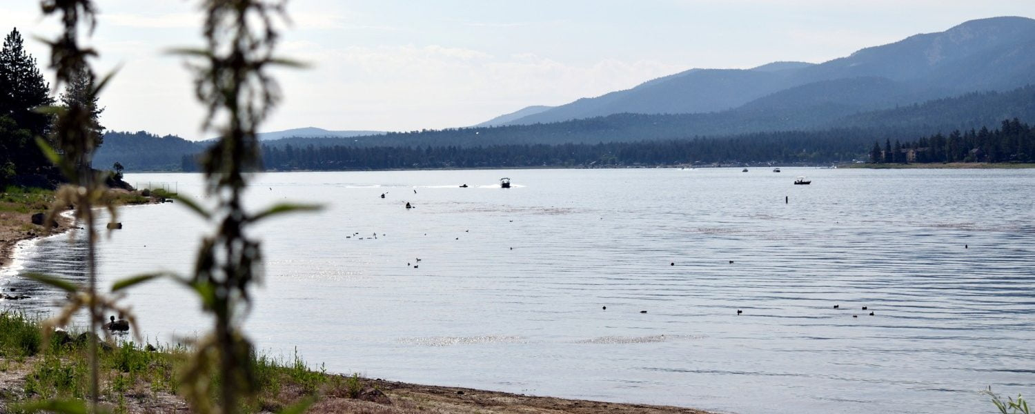 Big Bear Lake Beach