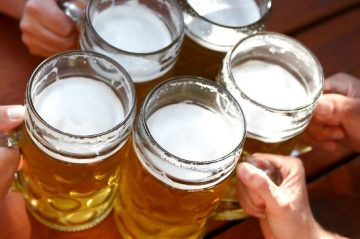 Beer is just one of the things you'll find at the Big Bear Oktoberfest.