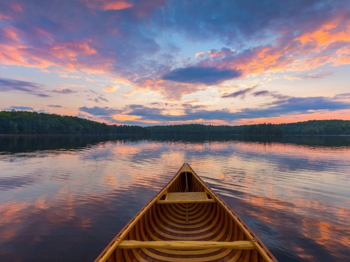 canoeing is just one of the many things to do at big bear lake