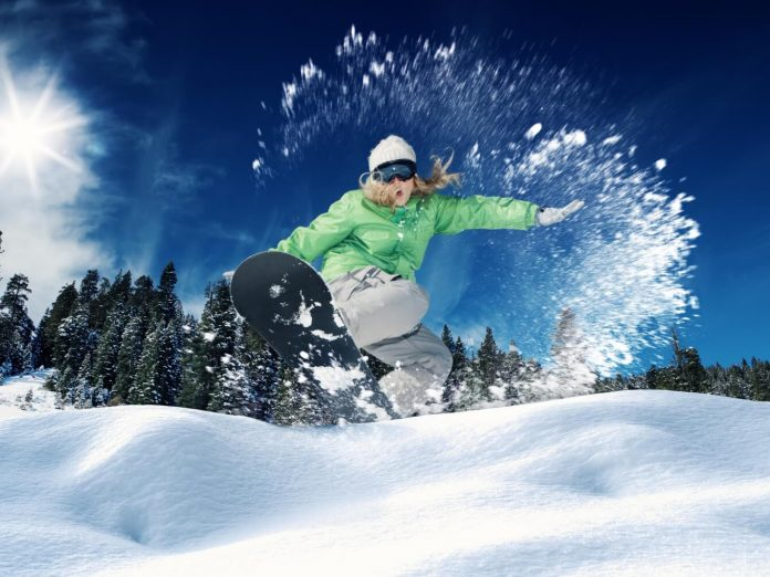 snowboarding is just one of the many things to do at big bear lake